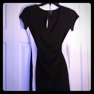 Rue21 black and white asymmetrical dress